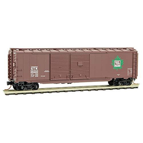 Micro-Trains MTL N-Scale 50ft Auto Box Car Grand Trunk Western/GTW ()