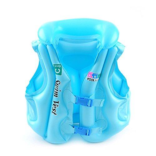 kinokoo Swim Waistcoat for Kids Floatage Swim Tool for (1 Waistcoat)