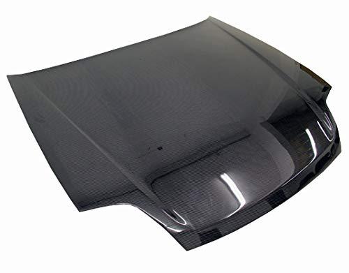 VIS Racing (VIS-VIN-372) Black Carbon Fiber Hood OEM Style for Honda Prelude 2DR 97-01