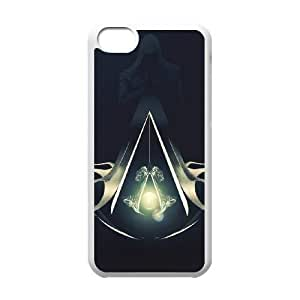 Assassin's Creed iPhone 5c Cell Phone Case-White D4M2QW