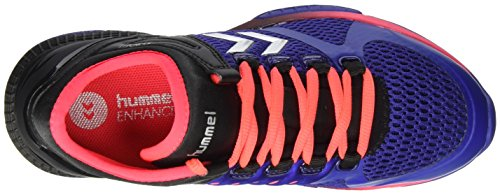 Hummel Unisex Adults' Aerocharge Hb 200 Fitness Shoes, Blue/Pink, 15.5 Blue (Clematis Blue 7519)