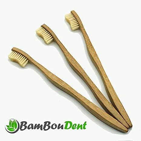 bamboudent – la cepillo de dientes ♻ ecológica en bambú ✮ Biodegradable, compostable, Vegan