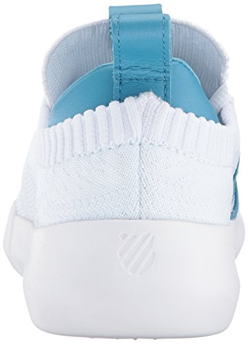 discount fast delivery K-Swiss Women's Gen-k Icon Knit Sneaker White/Blue Moon cheap best sale tumblr free shipping get authentic outlet official yrWjAK7
