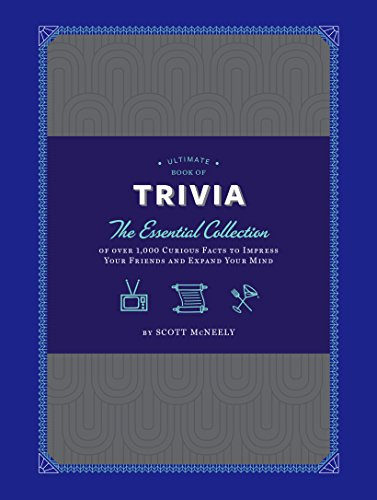Ultimate Book of Trivia: The Essential Collection of over 1,000 Curious Facts to Impress Your Friends and Expand Your Mind cover