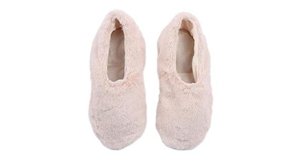 Amazon.com: Pantuss- Pantuflas de bailarina de peluche para ...