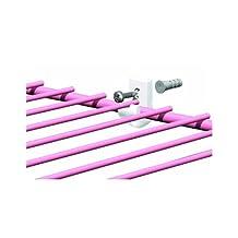 ClosetMaid 754600 Wood/Concrete Wire White Shelf Wall Clip