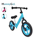 MammyGol Balance Bike for Kids and Toddler,Sport Bicycle with Brake, No Pedal Training and Walking Bicycle Adjustable Handlebar and Seat, for Ages 2-8 Years