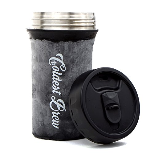 Coldest Brew Iced Coffee Maker - Make Hot Coffee Into Ice Co