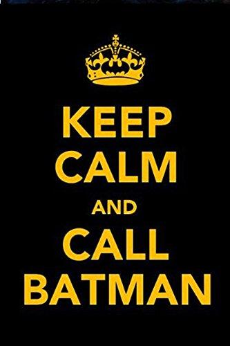 KEEP CALM AND CALL BATMAN MAGNETICA CALAMITA FRIGO FRIDGE MAGNET