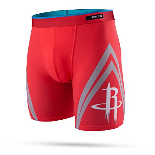 - Stance Men's NBA Basketball Boxer Brief Collection, Houston Rockets, M