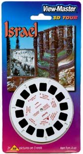 ISRAEL - New and Old ViewMaster 3 Reel Set by View Master