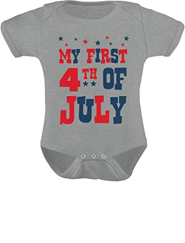 Tstars My First 4th of July Baby Boy