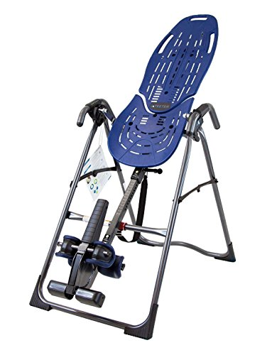Teeter 900LX Inversion Table for back pain relief, FDA Registered 510(k) Device, Safety Certified, with Back Pain Relief DVD, Refurbished