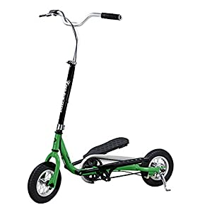 PED-RUN TEENS Pedaling Scooter, Green