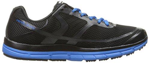 Pearl iZUMi Men EM Road M 2 V3 Running Shoe Black/Fountain Blue