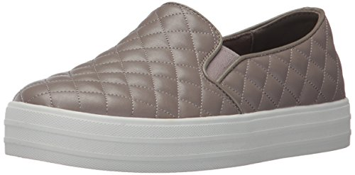 Skechers Street Women's Double up-Quilted Fashion Sneaker (Womens Duvet)
