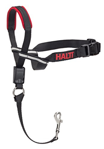 The Company of Animals - HALTI Opti Fit Head Collar - Adjustable and Padded Gentle Leader - No Pull, No Pain - Includes Training DVD and Guide - Medium