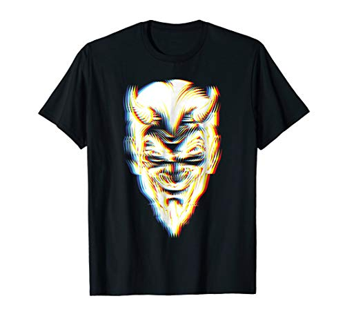 Psychedelic Devil T-Shirt | Trippy 3D Halloween Costume Idea]()