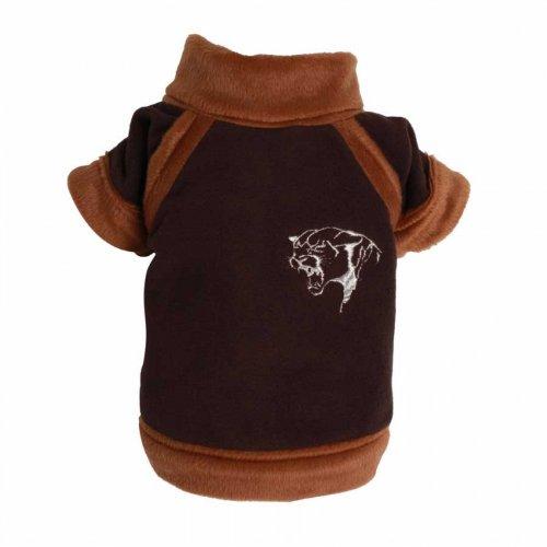 BD-XXS chest 61-63cm, back 41-43 Doggydolly Tiger fleece brown big dog