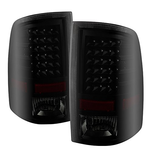 Xtune ALT-JH-DR09-LED-BKSM Dodge Ram LED Tail Light