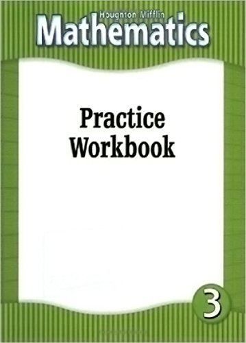 Houghton Mifflin Mathematics: Practice Workbook, Level 3