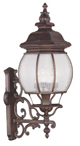 Livex Lighting 7904-58 Frontenac 4 Light Outdoor Wall Lantern, Imperial Bronze