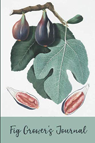 Fig Grower's Journal: Dot Grid Notebook to track your Fig Growing Activities (Farmer Christmas Brown Farm Tree)