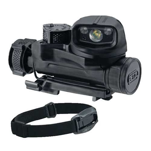 Petzl STRIX IR tactical headlamp Black