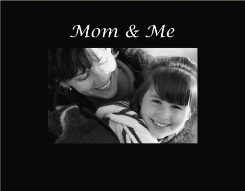 Infusion Gifts 3022SB Engraved Photo Frame, Mom and Me, Blac