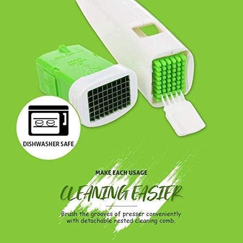 Multi-Purpose Garlic Press Cube Presser Grater Chopper Slicer Mincer Kitchen Tools