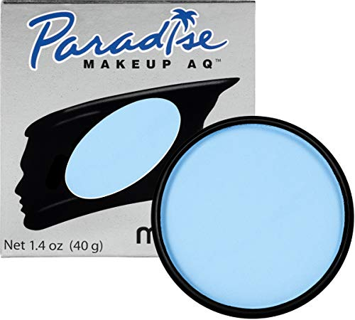 Mehron Makeup Paradise Makeup AQ Face & Body Paint (1.4 oz) (Light Blue) -