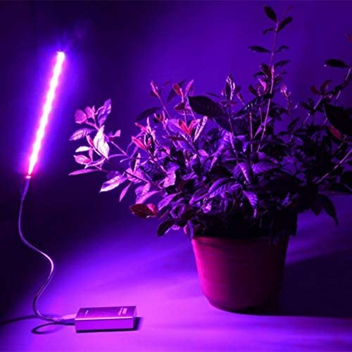 LED Grow Light Full Spectrum Flexible Clip Phyto Lamp USB 25W 5V Grow Lamp For Plants Seedling Indoor Growth Lampblue red25W