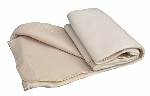 Cream Fleece Waterproof Backed Picnic Rug by Red Hamper