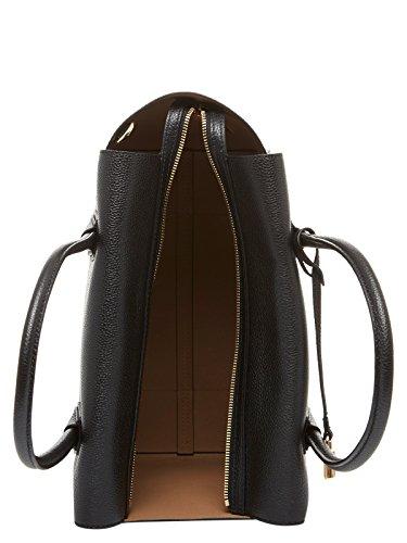Sac à main DKNY Bryant Park Mini en peau saffiano noire