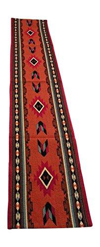 RaaKha now Kinara Cibola Southwestern Design Table Runner, Multi Desert Colors, 13x72 inches]()