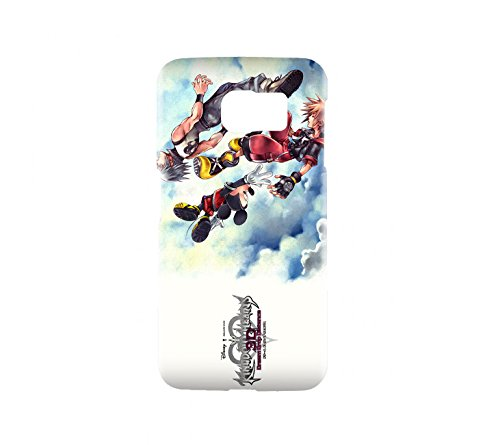 Kingdom Hearts 3D: Dream Drop Distance Game Snap on Plastic Case Cover Compatible with Samsung Galaxy S6 GS6 (Kingdom Hearts 3d Dream Drop Distance Opening)