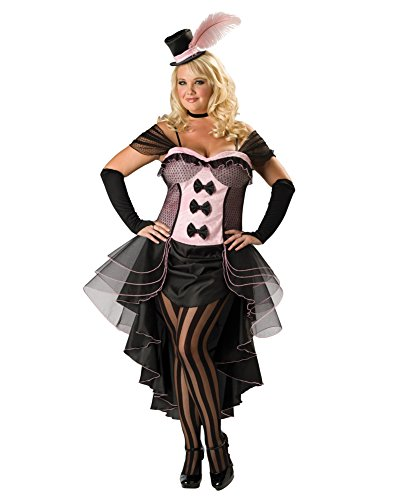 Summitfashions Sexy Plus Size Theatre Costumes Burlesque Dancer French CanCan Sizes: One Size -