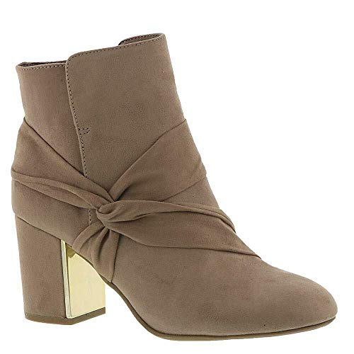 Report Signature Womens Monica Leather Almond Toe Ankle, Taupe, Size 11.0 ()