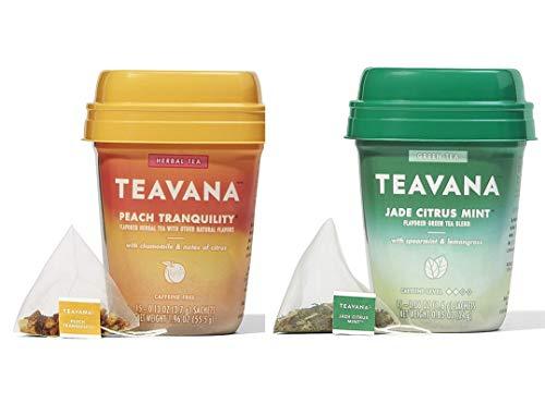 Teavana Medicine Ball Tea Jade Citrus Mint & Peach Tranquility