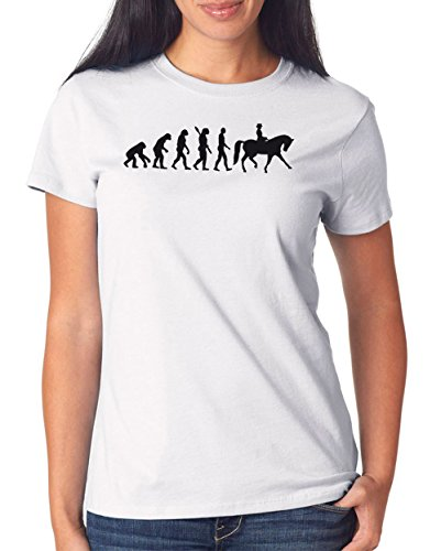 Dressage Evolution T-Shirt Girls White Certified Freak