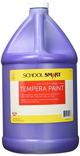 School Specialty School Smart Tempera Paint - Gallon - Pu...