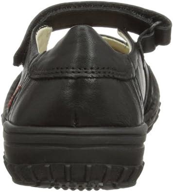 Toddler//Little Kid Froddo G3140007 Black Leather Wingtip Mary-Jane