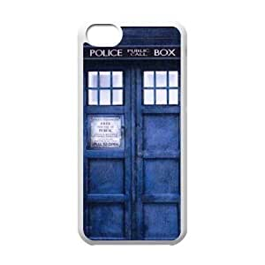 Police Box¡ê?Doctor Who CUSTOM Phone Case for iPhone 5/5s LMc-00888 at LaiMc