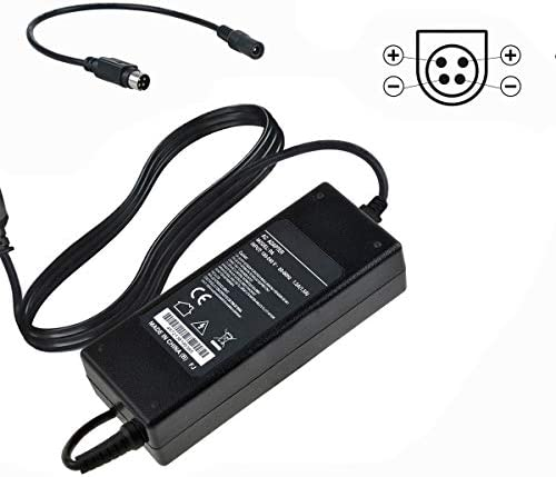 UpBright 4-Pin 24V AC//DC Adapter Replacement for CWT Model No CAD120241 CAD 120241 Channel Well Technology ELM USA EcoPro Eco Pro Pro 04503 B Optical Disc Repair Equipement 24VDC Power Supply Cord
