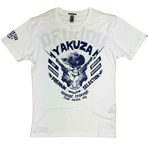 Yakuza Premium T-Shirt YPS 2200 weiß