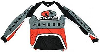 Camiseta Cross y Enduro Modelo Dakar Gris Talla M