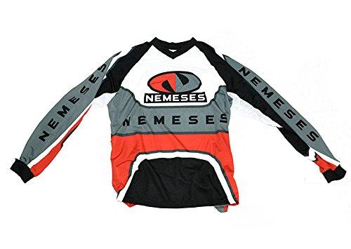 Camiseta Cross y Enduro Modelo DAKAR Roja Talla M Nemeses