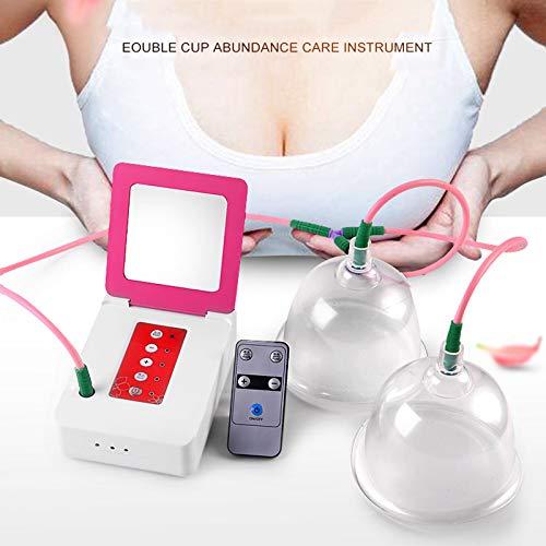 Breast Woman Cup Pump 2 Cups Vacuum Massage Enlargement Cup