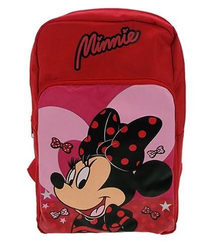Disney Minnie Mouse Lipstick Mochila Rojo
