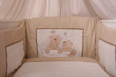 Juego de cama (7 Joy Incluye - Saco de dormir para bebé + Baby Saco, Nuevo + Beige: Amazon.es: Bebé